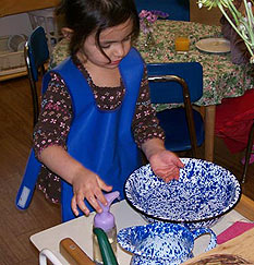 Hands-on preschool classes and activities