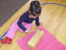 children learn at their own rhythm within the prepared learning environment
