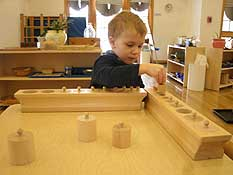 Accredited Montessori preschool education for toddlers