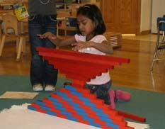 Montessori infant care, preschool, kindergarten, summer classes